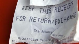 refind receipt